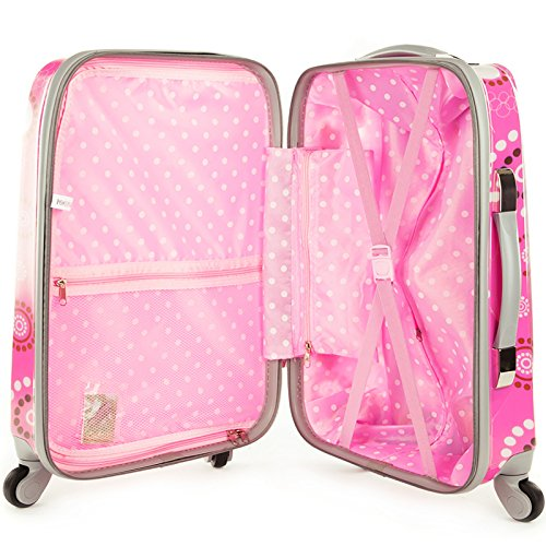 Rockland Luggage 20 Inch Polycarbonate Carry On Luggage