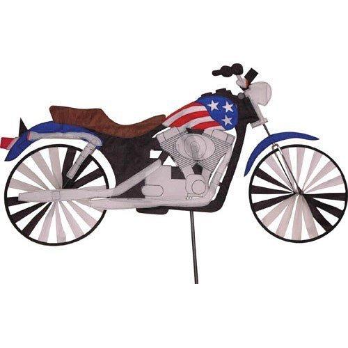47 in。Motorcycle Patriotic Spinner B000UALR84