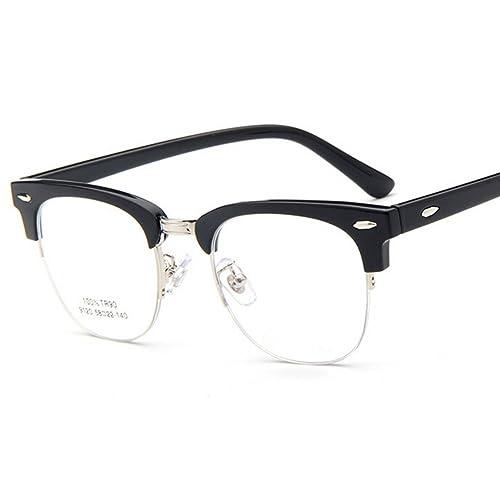 hibote Hombres Mujeres TR90 marcos de los vidrios / de anteojos / gafas de moda