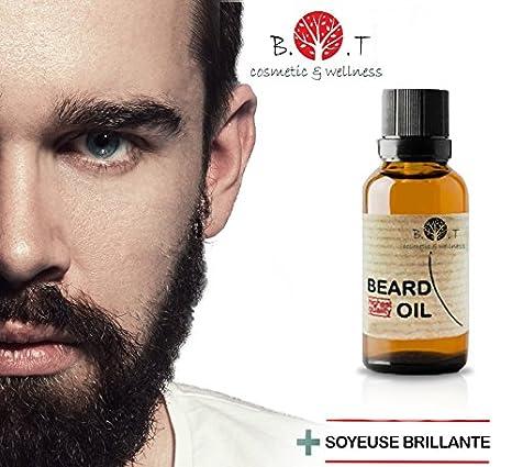 B.O.T Cosmetic & Wellnes - Aceite de Barba 3en1 Aceite, Suero y Crecepelos 30 ml