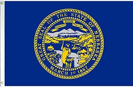 Ohio 3x5 Polyester Flag