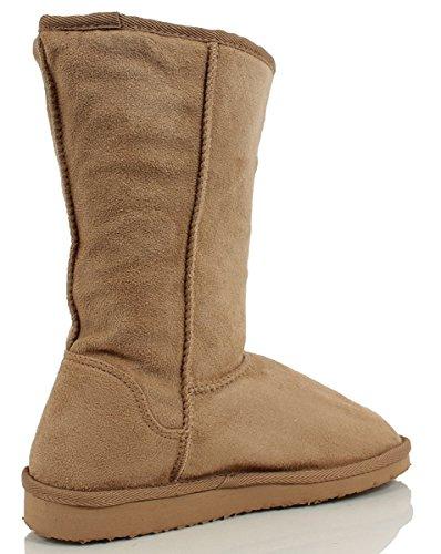 Soda Sheepskin Soong Natural Faux Shearling Boot Faux Fur 4r4qdEw
