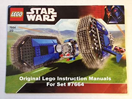 Amazon Instruction Manuals For Lego Star Wars Set 7664 Tie