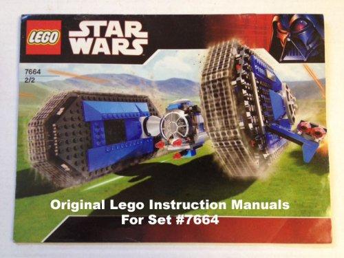 Instruction Manuals For Lego Star Wars Set 7664 Tie Crawler Buy