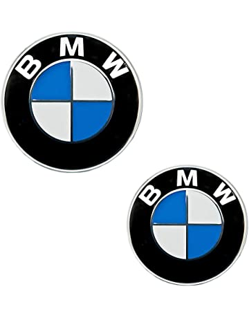 BMW Emblem Emblemas para capó y Maletero 82mm 74mm Hood Logo Delantero Trasero Bonnet Boot para