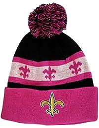 New Orleans Fleur De Lis Adult Size Winter Knit Beanie Hats