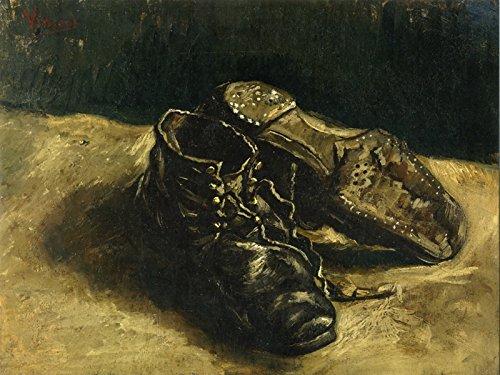 (Vincent van Gogh: A Pair of Shoes. Fine Art Print/Poster (16 x 12 Inches))