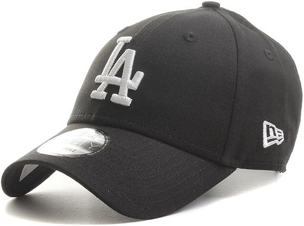 New Era 39 Thirty Cap League Essential Los Angeles Dodgers Black//White