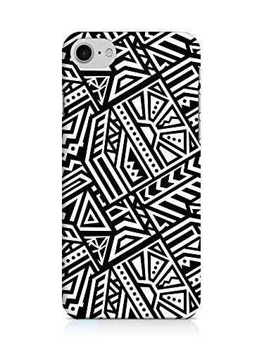 COVER AZTEC Gipsy Hippie Muster schwarz weiss Handy Hülle Case 3D-Druck Top-Qualität kratzfest Apple iPhone 7