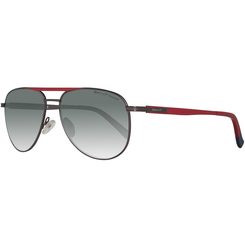 smoke polarized Sunglasses Gant GA 7060 GA7060 08D shiny gumetal