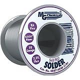 MG Chemicals 63/37 Rosin Core Leaded Solder, .5″ Diameter, 1 lb Spool