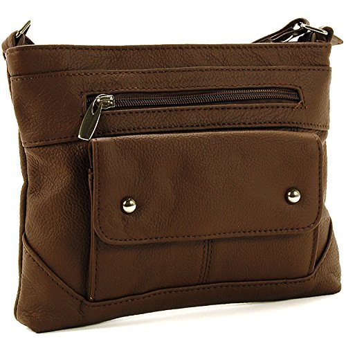 Coffee Designs SBR Women's Leather Organizer Bag Cross Body gPzPxO