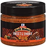 Rubs Grill Mates Sweet and Smoky Rub 4.76OZ (Pack of 18)
