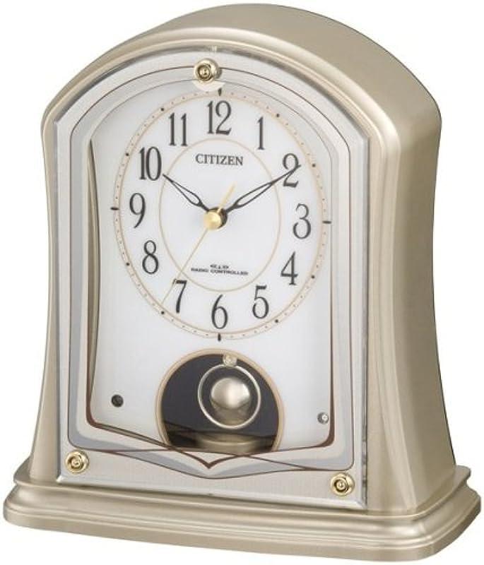 CITIZEN 디지털 탁상 시계 R693 금색 4RY693-018