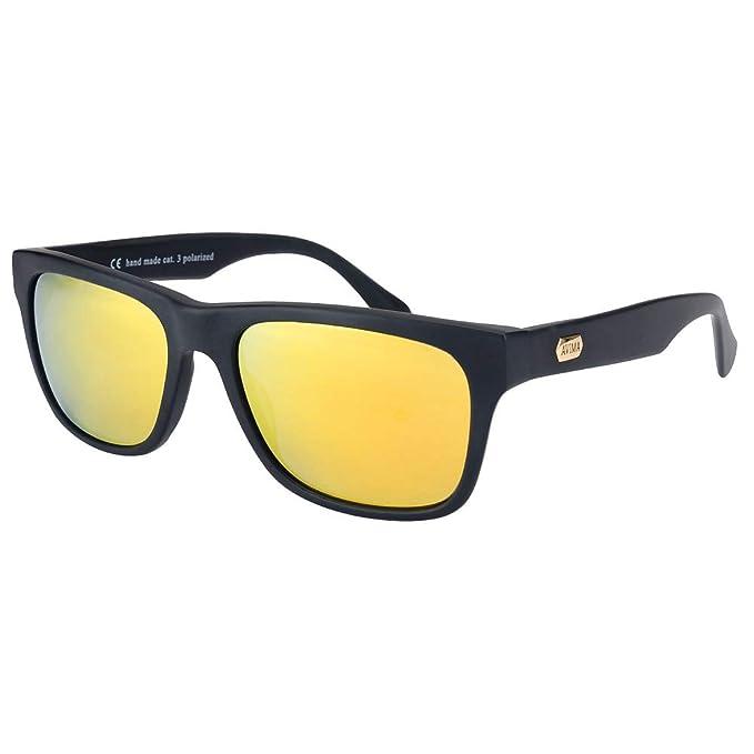 3f845e8b63 Avima - anteojos de sol polarizadas con protección UV para hombres, Amarillo