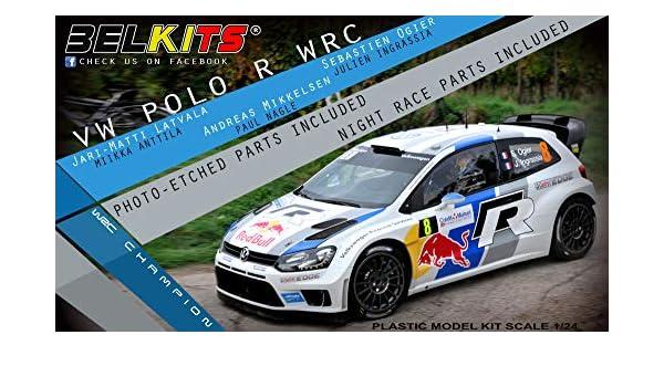 1/24 Campana kit No.5 Volkswagen Polo R WRC: Amazon.es: Juguetes y ...