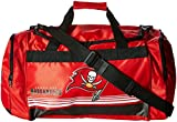 Forever Collectibles Tampa Bay Buccaneers Medium Striped Core Duffle Bag