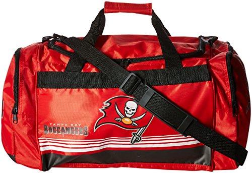 Tampa Bay Buccaneers Medium Striped Core Duffle Bag