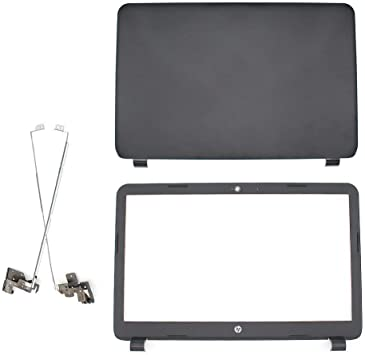 New HP 250 255 G3 15-G 15-R 15Z-G LCD back cover /& Front Bezel /& hinges no-touch