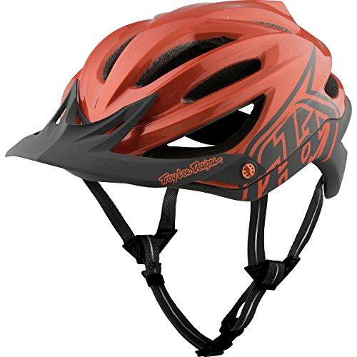 Troy Lee Designs A2 MIPS Helmet Decoy Orange/Gray, M/L by Troy Lee Designs