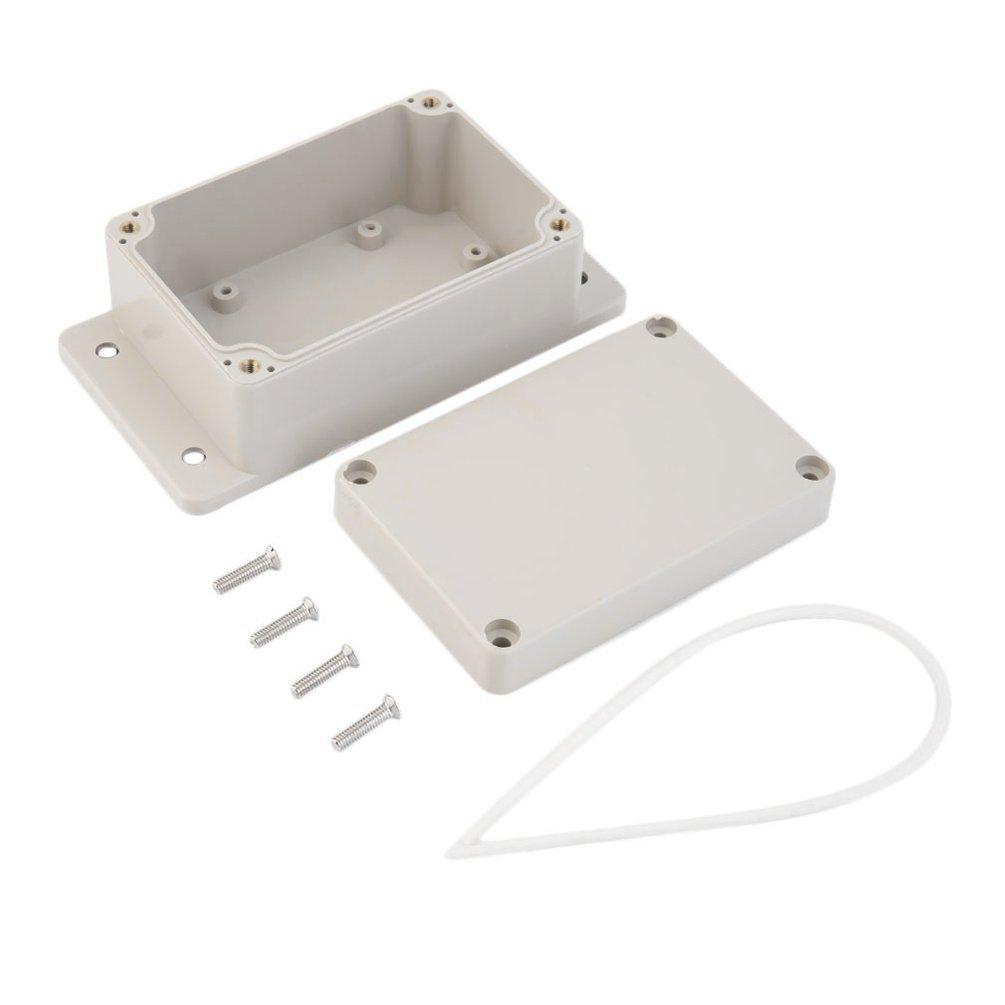 Caja de plá stico para proyectos electró nicos impermeable, 100 x 68 x 50 mm Gugutogo