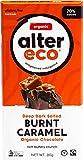 ALTER ECO Deep Dark Salted Burnt Caramel Organic Chocolate Bar, 80 g