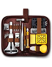 EasyTime Professional Watch Repair Kit, Watch Band Tool Link Pin Remover Set, Including Watch Back Case Opener, Spring Bar,Operation Manual, Suitable for Battery Replacement and Strap Adjustment