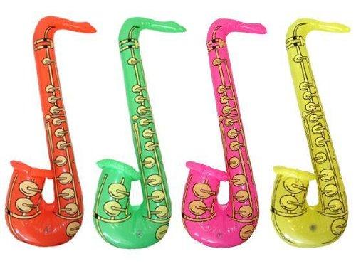 Hen and Stag X99 110 - Juego de 4 4 saxofones inflables