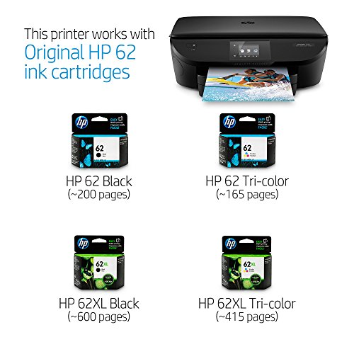 HP Envy 5660 Wireless All-in-One Photo Printer with Mobile Printing, Instant Ink Ready (F8B04AR) (Renewed) by HP (Image #3)