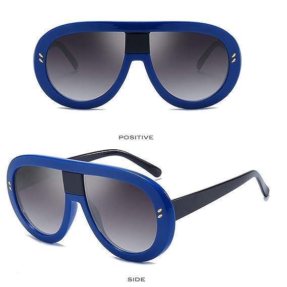 Mymyguoe Gafas de Sol Mujer Grandes Dama Gafas de Sol Vintage Gafas de Sol  Retro Gafas de protección de la radiación Gafas de Sol polarizadas para  Mujer  ... 725f10a6e575