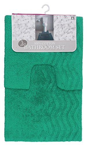 Dune Sage - Westward Ho! Dune Cotton Bath Set, 2 Count, Sage