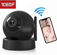 VICTONY Wireless 1080P Security Camera, Indoor IP Security Surveillance System with Night Vision for Home/Office / Baby/Nanny / Pet Monitor with iOS, Android App,Home Security Surveillance WiFi Camera
