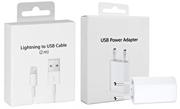 MyPhone® Original Box Kit 2 en 1 Cable 2mt Enchufe Cargador ...