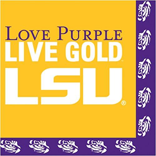 Creative Converting Louisiana University 20 Count