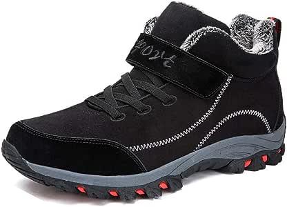 Sin marca Zapatos De Hombre Zapatos De Algodón Gruesos Y Cálidos ...