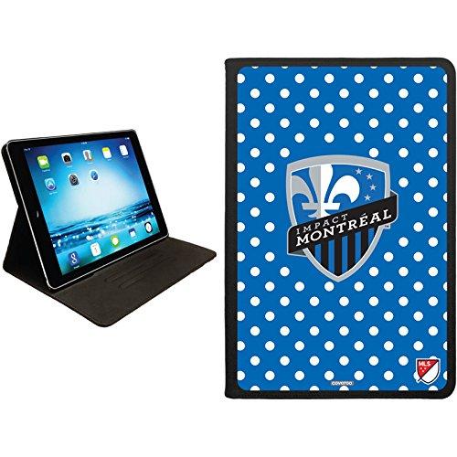 Price comparison product image Coveroo Folio Stand Case Montreal Impact Polka Dots Design on Apple iPad mini 1, 2 & 3 (813-10256-BK-FBC)