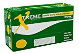AMMEX - XNGPF46100 - Nitrile Gloves - Xtreme - Disposable, Powder Free, Industrial, 4 mil, Large, Green (Case of 1000)