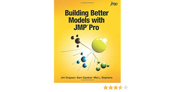 Amazon com: Building Better Models with JMP Pro
