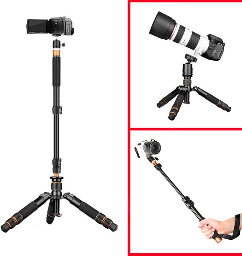 21.6//55 cm for Nikon Sony DSLR and Macro Photograp Portable Aluminum Alloy Camera Tripod Vertical Shot Selfie