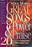 Great Songs of Power and Praise, Don Marsh, 000513370X