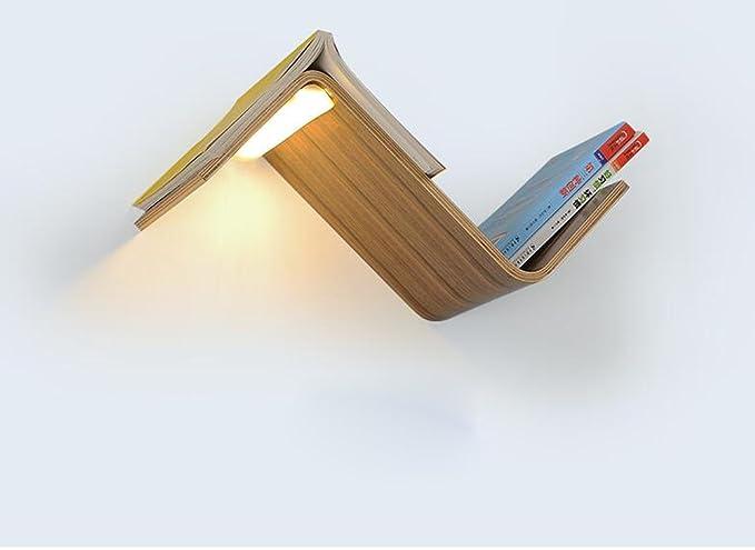 Bookshelf Lamps Bookmarks Light Bedside Bookshelves Lamp Wall Lights