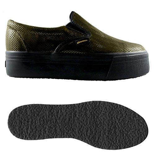 Scarpe da donna - 2314-leathertwillw Brown