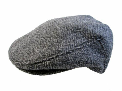 fa0b98ed168 John Hanly Men s Irish Hat Wool Grey Herringbone Made in Ireland at Amazon  Men s Clothing store