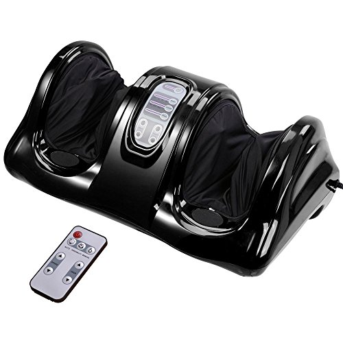 Shiatsu Kneading and Rolling Foot Leg Massager Calf Ankle...