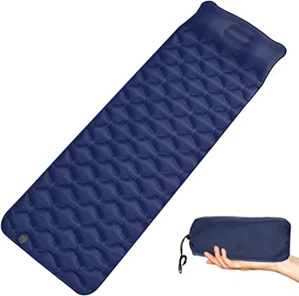 Zehnhase Matelas Gonflable De Camping Ultra Léger Matelas Gonflable Coussin Dair Sleeping Pad Tapis De Couchage Gonflable Pour Camping Randonnée