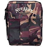 Cross Gifts Camo New Army Canvas Bible Cover - Small
