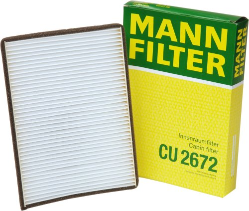 Mann-Filter CU 2672 Cabin Filter for select  Volkswagen Passat models