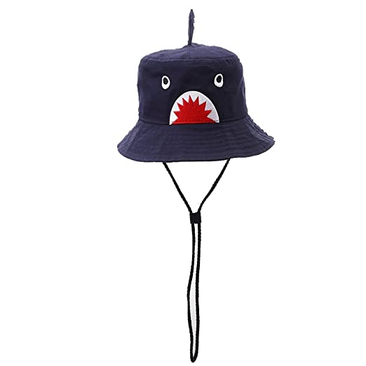 f8ae7b60799 Hisharry Toddler Boy Bucket Hat- Cute Baby Girl Kids Sun UV Protection Shark  Animal Hat