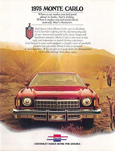 1975 Chevrolet Monte Carlo sales brochure
