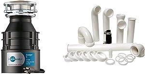 InSinkErator Garbage Disposal with Cord, Badger 1, 1/3 HP Continuous Feed & Plumbcraft 7027450 Garbage Disposal Installation Kit